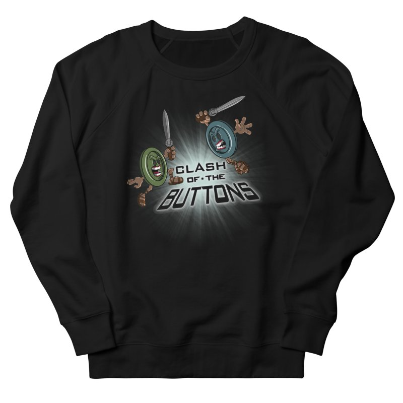 Clash of the Buttons Women's Sweatshirt by JVZ Designs - Artist Shop