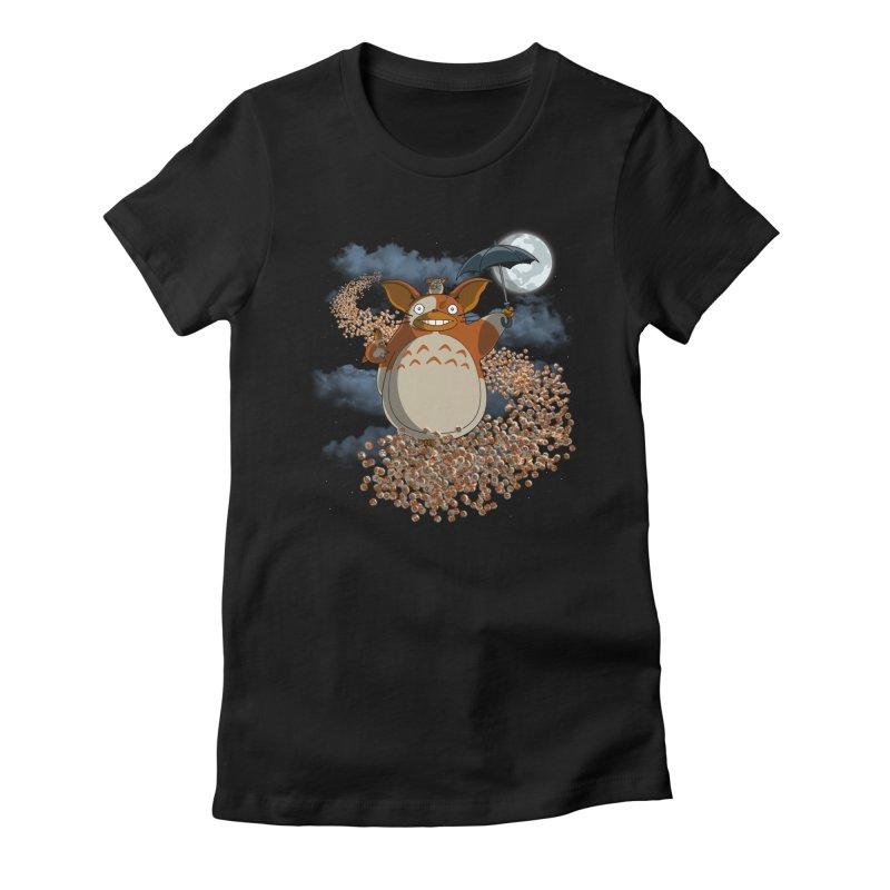 My Mogwai Gizmoro Women's Fitted T-Shirt by JVZ Designs - Artist Shop