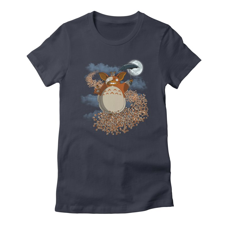My Mogwai Gizmoro Women's Fitted T-Shirt by JVZ Designs - Artist Shop