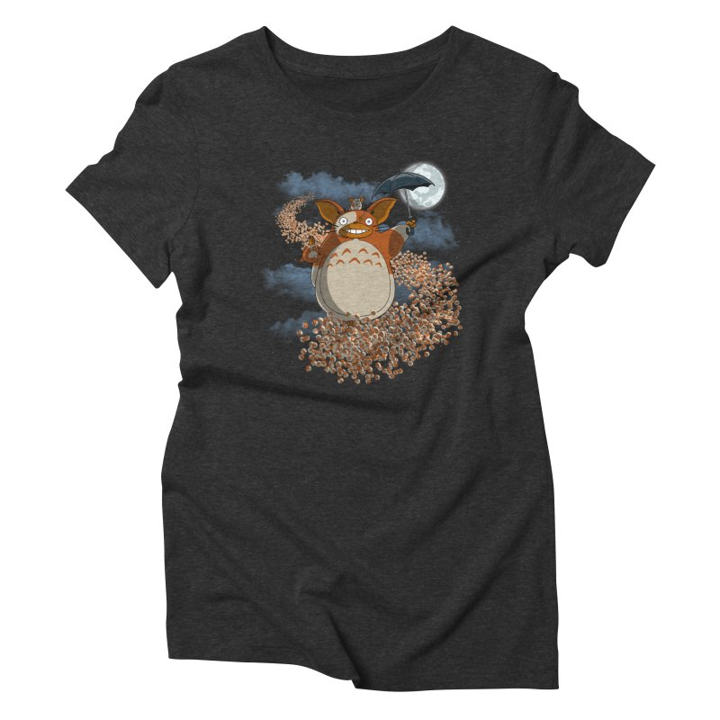 My Mogwai Gizmoro Women's Triblend T-shirt by JVZ Designs - Artist Shop