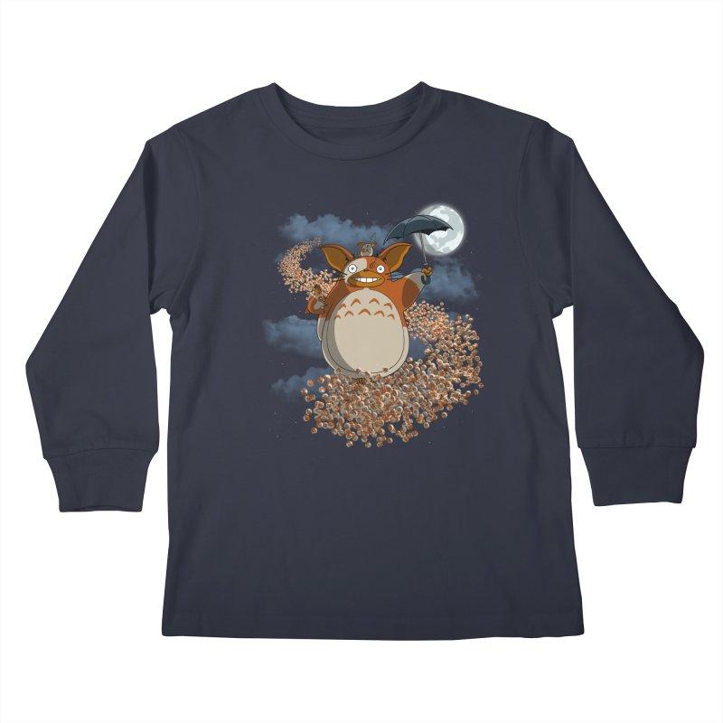 My Mogwai Gizmoro Kids Longsleeve T-Shirt by JVZ Designs - Artist Shop