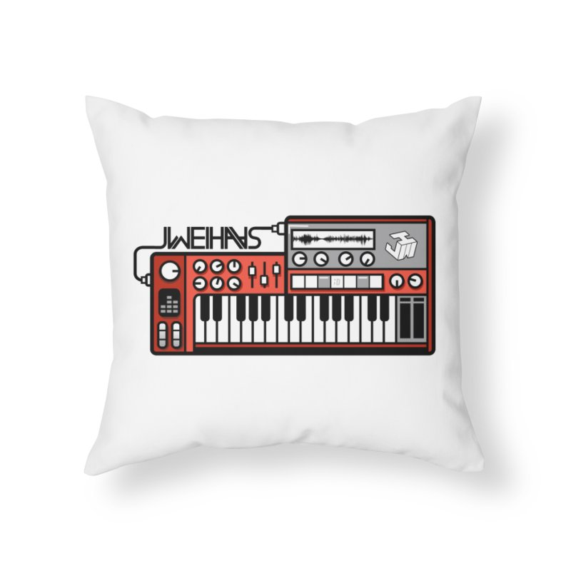 WEIHAASOME SYNTHESIZER 1 Home Throw Pillow by WEIHAASOME SHIRTS