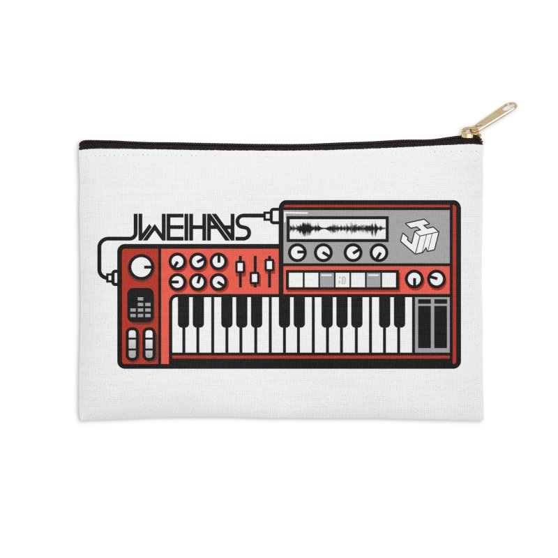 WEIHAASOME SYNTHESIZER 1 Accessories Zip Pouch by WEIHAASOME SHIRTS