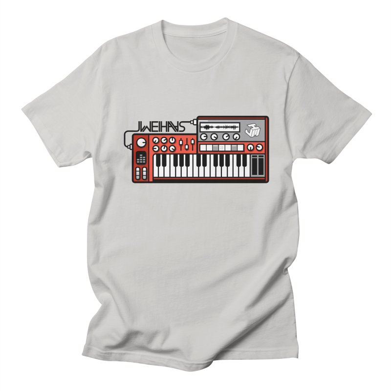 WEIHAASOME SYNTHESIZER 1 Men's Regular T-Shirt by WEIHAASOME SHIRTS
