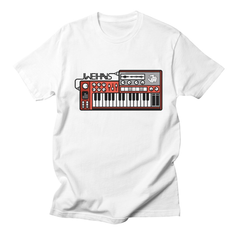 WEIHAASOME SYNTHESIZER 1 in Men's Regular T-Shirt White by WEIHAASOME SHIRTS
