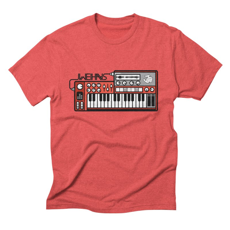 WEIHAASOME SYNTHESIZER 1 Men's Triblend T-Shirt by WEIHAASOME SHIRTS