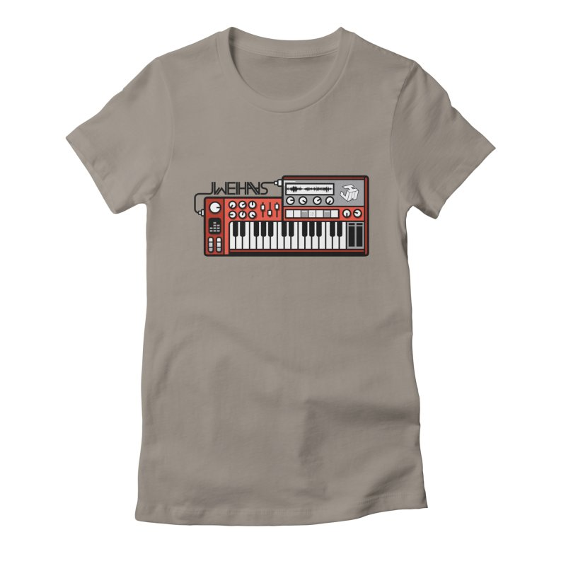 WEIHAASOME SYNTHESIZER 1 Women's Fitted T-Shirt by WEIHAASOME SHIRTS