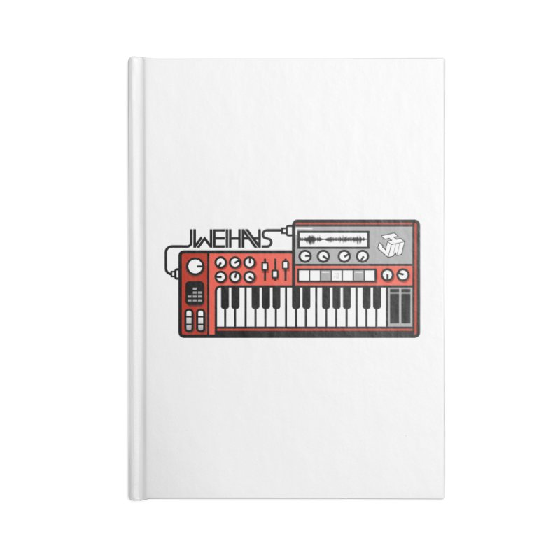 WEIHAASOME SYNTHESIZER 1 Accessories Blank Journal Notebook by WEIHAASOME SHIRTS