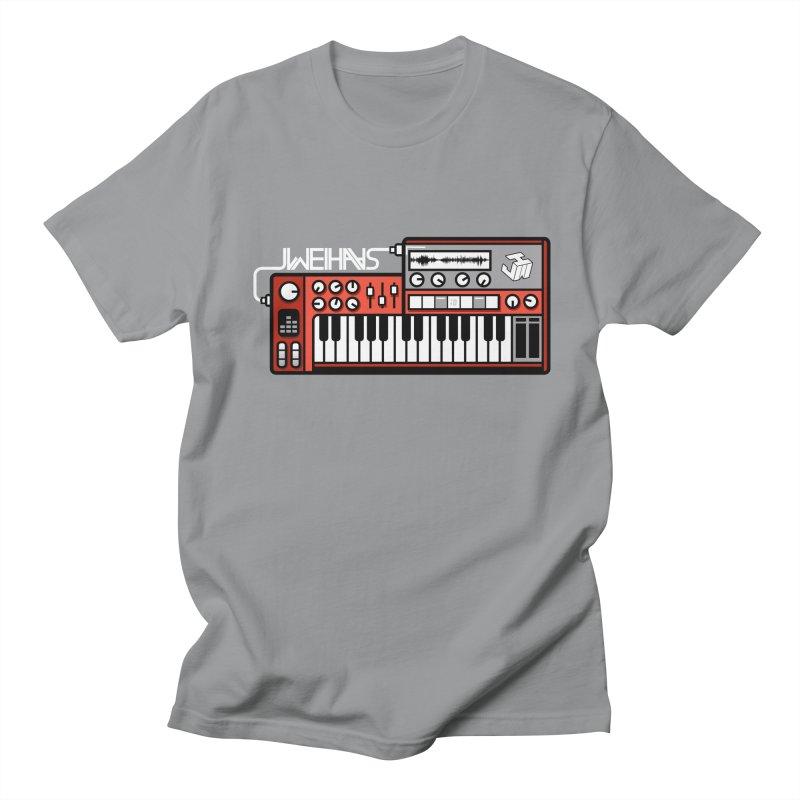 WEIHAASOME SYNTHESIZER 2 Men's Regular T-Shirt by WEIHAASOME SHIRTS