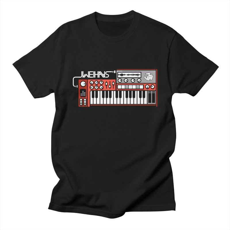 WEIHAASOME SYNTHESIZER 2 in Men's Regular T-Shirt Black by WEIHAASOME SHIRTS