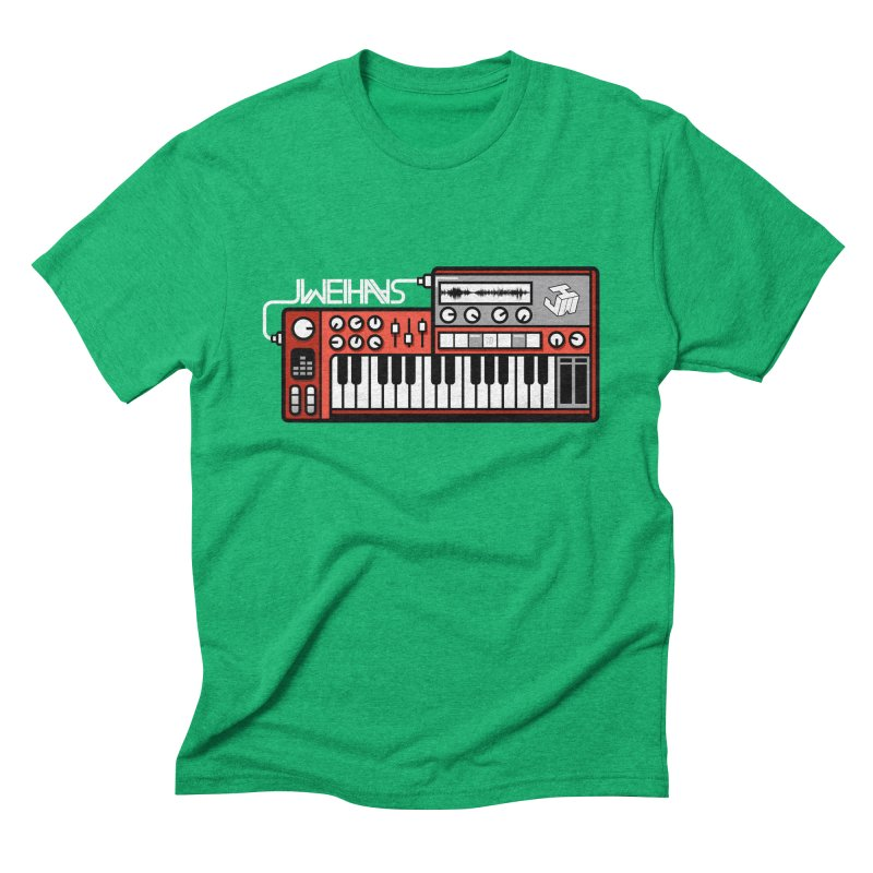 WEIHAASOME SYNTHESIZER 2 Men's Triblend T-Shirt by WEIHAASOME SHIRTS