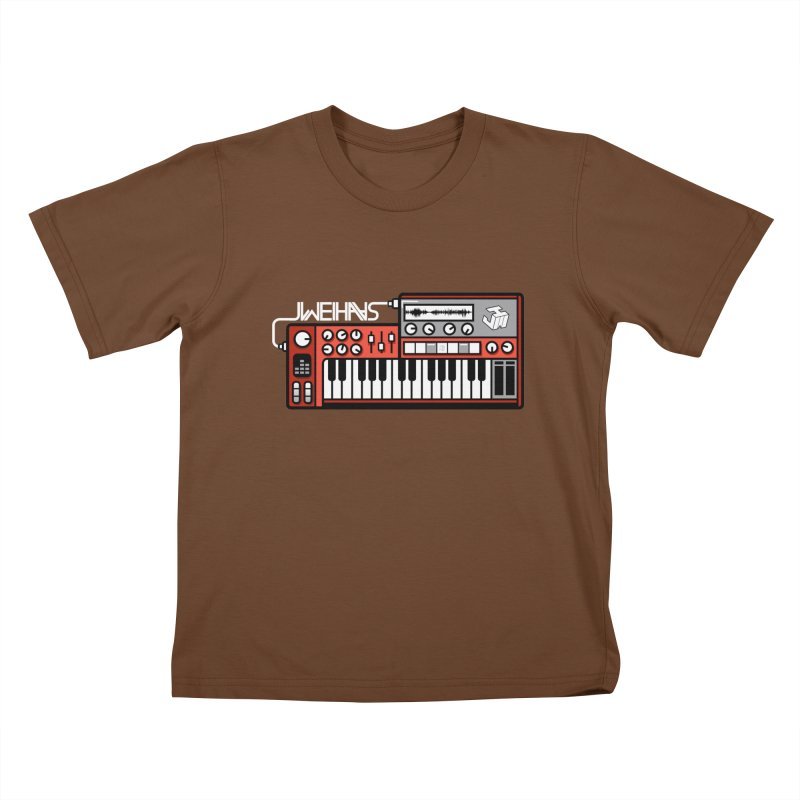 WEIHAASOME SYNTHESIZER 2 Kids T-Shirt by WEIHAASOME SHIRTS