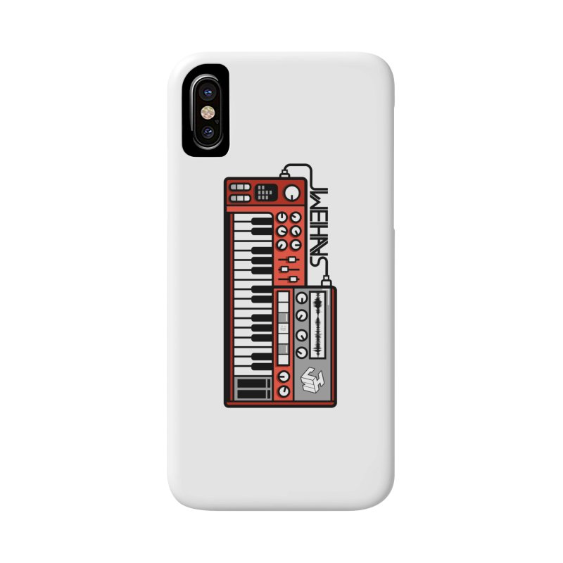 WEIHAASOME SYNTH Accessories Phone Case by WEIHAASOME SHIRTS