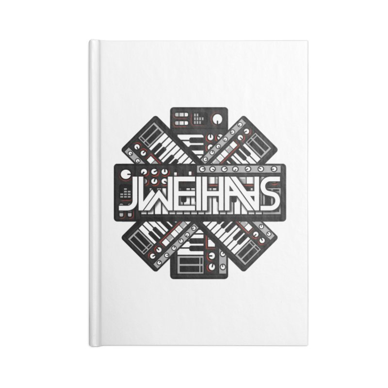 KEYSTAR Accessories Blank Journal Notebook by WEIHAASOME SHIRTS