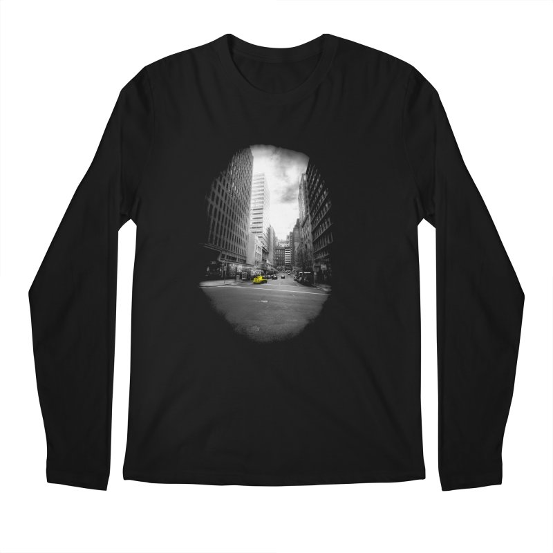 I could be anywhere in the world Men's Regular Longsleeve T-Shirt by jwoof's Artist Shop