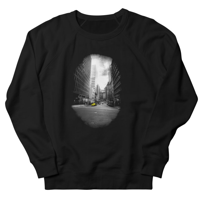I could be anywhere in the world Men's French Terry Sweatshirt by jwoof's Artist Shop