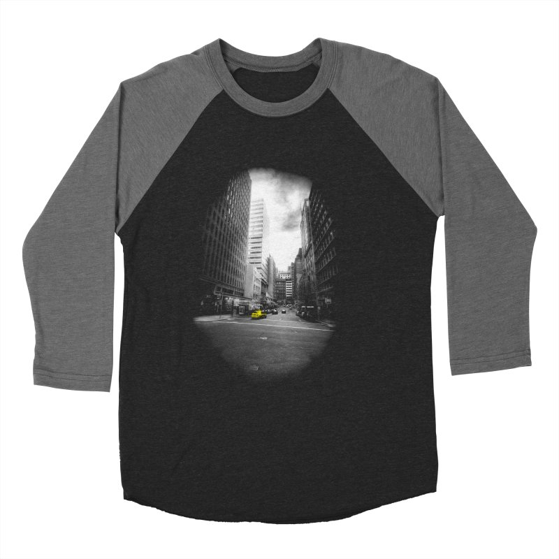 I could be anywhere in the world Men's Baseball Triblend T-Shirt by jwoof's Artist Shop
