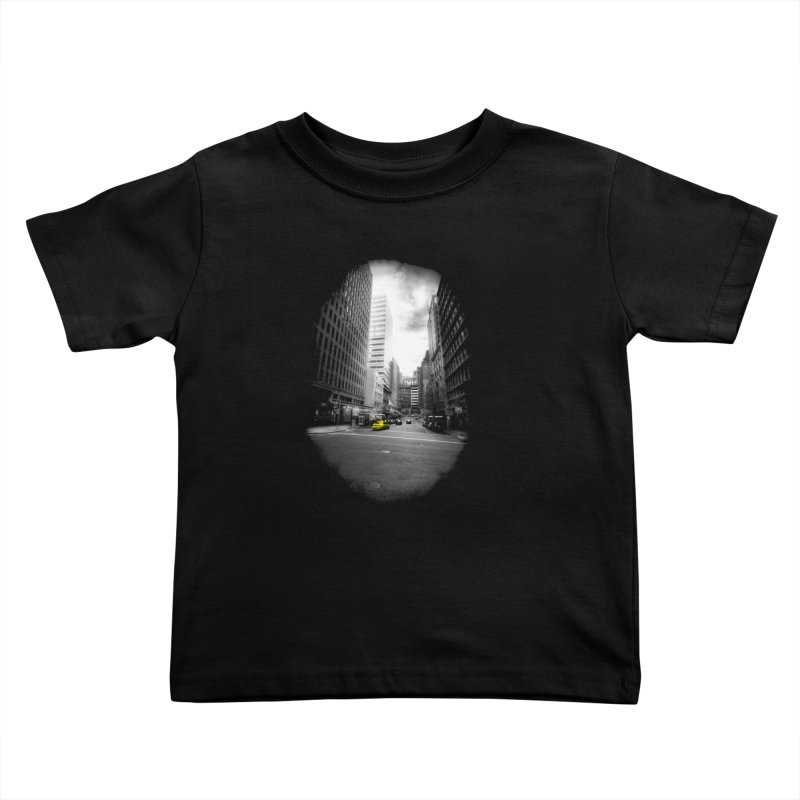 I could be anywhere in the world Kids Toddler T-Shirt by jwoof's Artist Shop