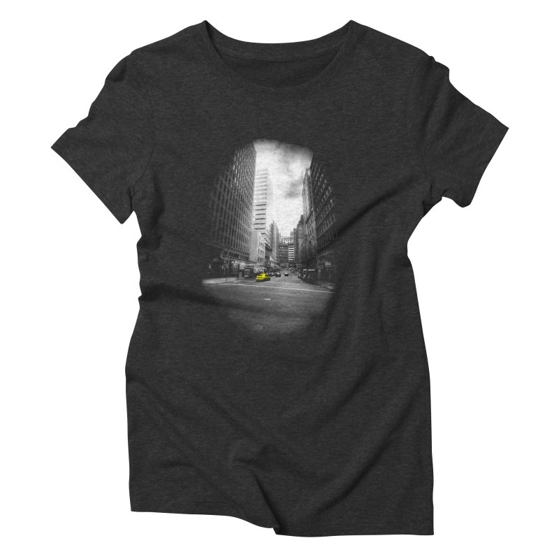 I could be anywhere in the world Women's Triblend T-Shirt by jwoof's Artist Shop