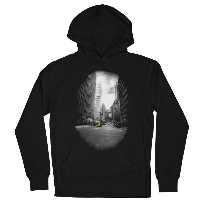 I could be anywhere in the world Men's French Terry Pullover Hoody by jwoof's Artist Shop