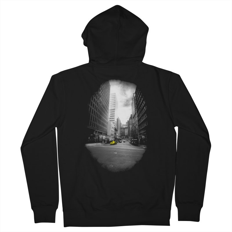 I could be anywhere in the world Men's Zip-Up Hoody by jwoof's Artist Shop