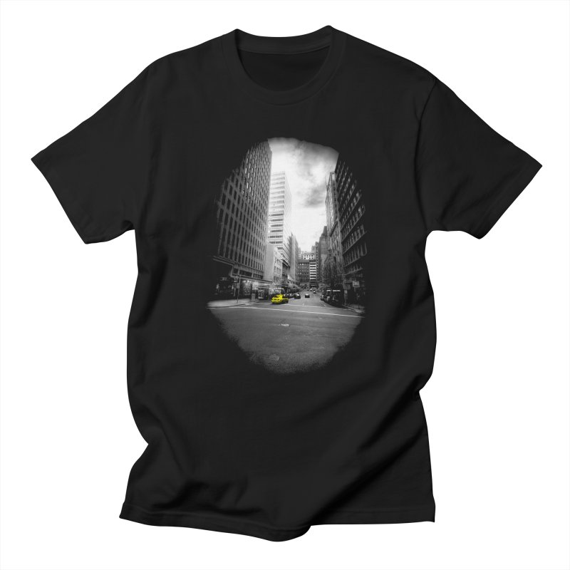 I could be anywhere in the world Men's T-Shirt by jwoof's Artist Shop