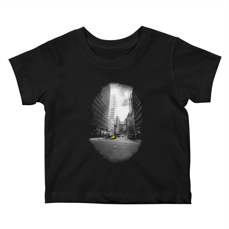 I could be anywhere in the world Kids Baby T-Shirt by jwoof's Artist Shop