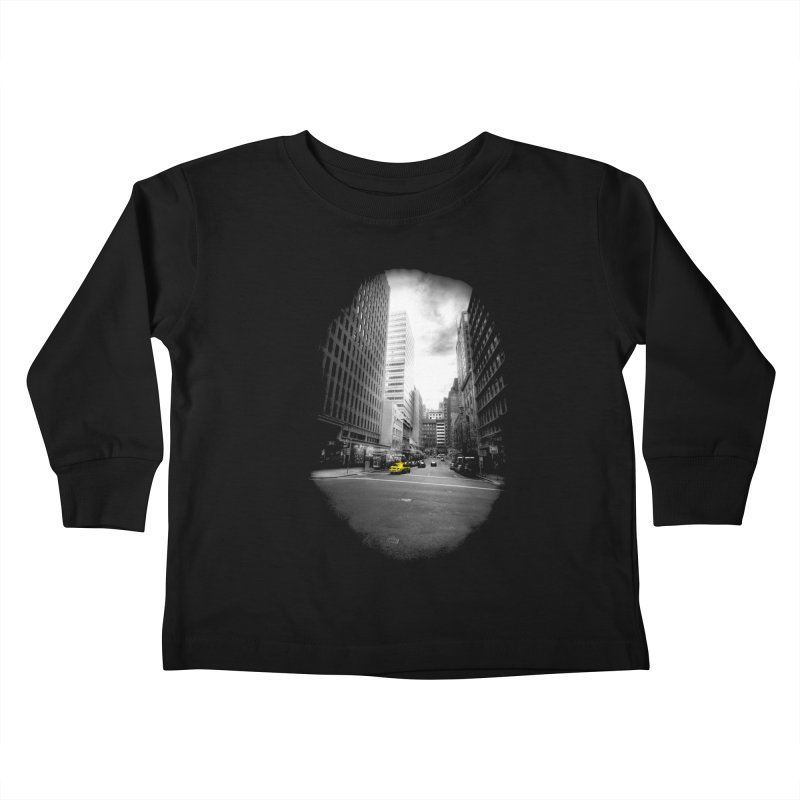 I could be anywhere in the world Kids Toddler Longsleeve T-Shirt by jwoof's Artist Shop