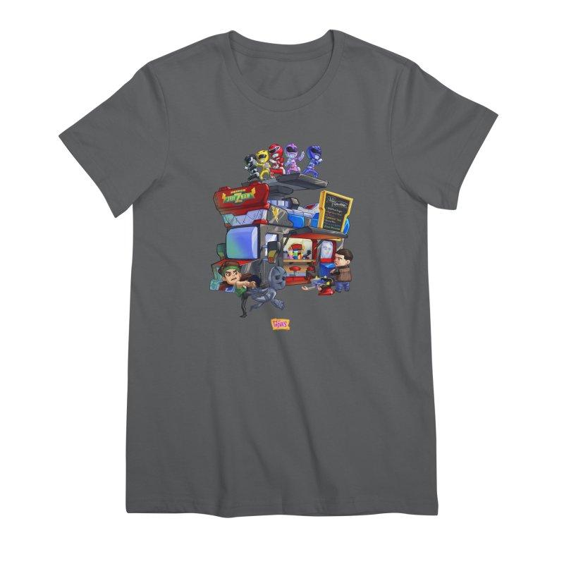 Morphin' JUI Z BAR Women's T-Shirt by JYK All Day