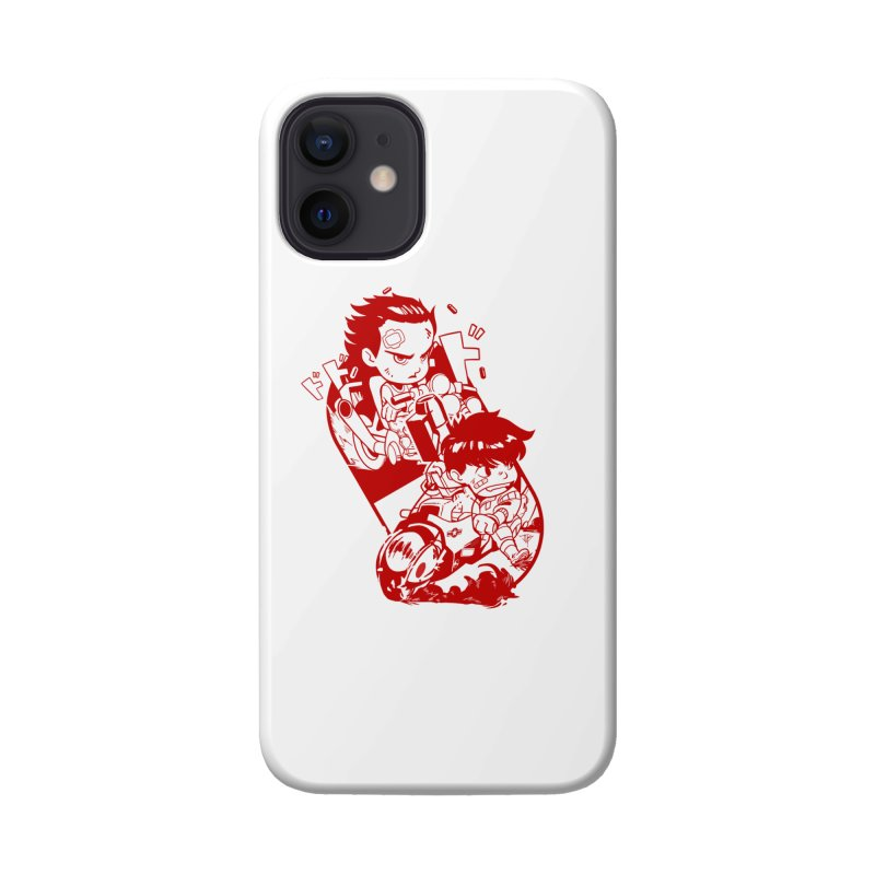 Neo Bikers Red and White Accessories Phone Case by JYK All Day