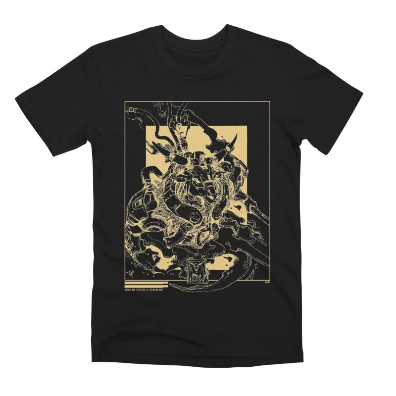 Tekno-OX Gold Edition Men's T-Shirt by JYK All Day