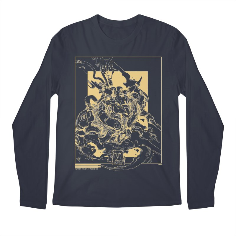 Tekno-OX Gold Edition Men's Longsleeve T-Shirt by JYK All Day