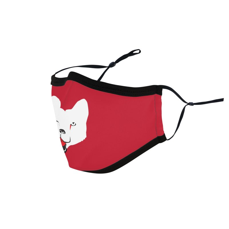 Lucky Fox Accessories Face Mask by KaascaT-Shirts