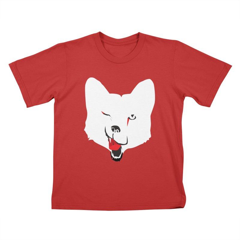 Lucky Fox Kids T-Shirt by KaascaT-Shirts