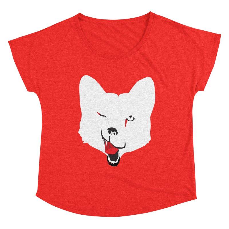 Lucky Fox Women's Scoop Neck by KaascaT-Shirts
