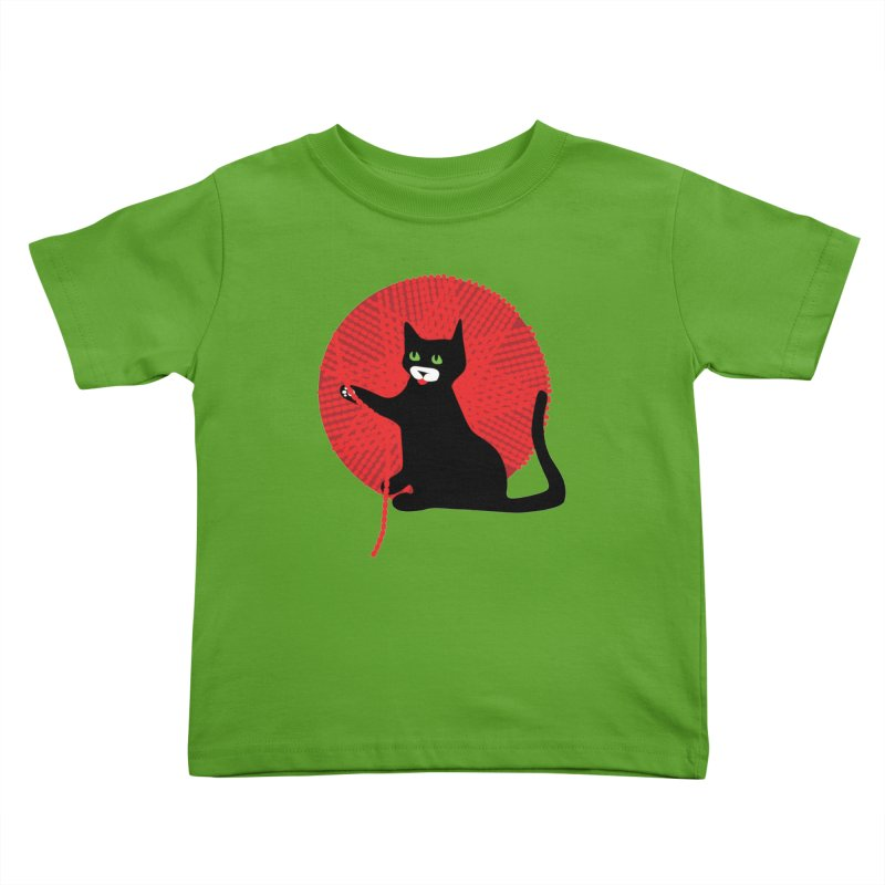 James and the Giant Yarn Kids Toddler T-Shirt by KaascaT-Shirts