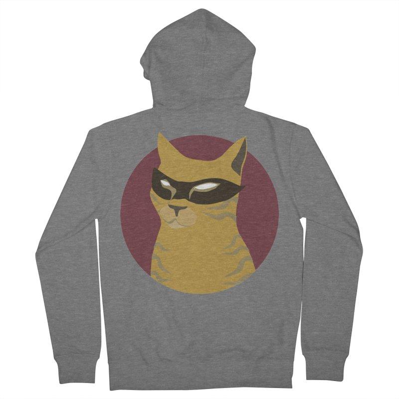 Mr. Villain Men's Zip-Up Hoody by KaascaT-Shirts