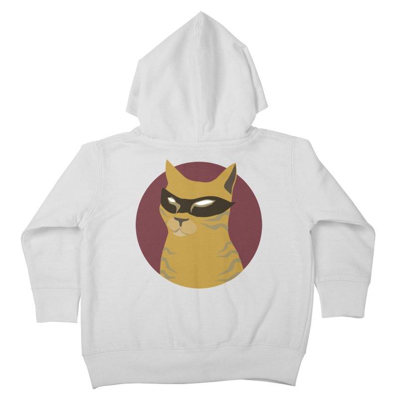 Mr. Villain Kids Toddler Zip-Up Hoody by KaascaT-Shirts
