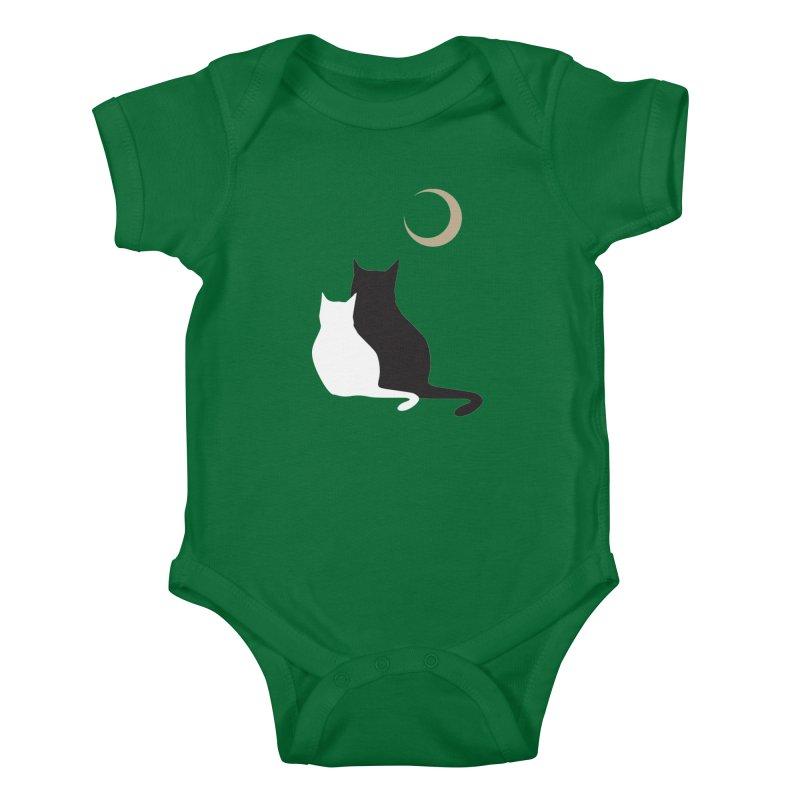 Moonstruck Kids Baby Bodysuit by KaascaT-Shirts