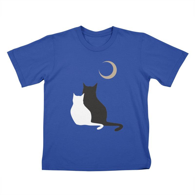 Moonstruck Kids T-Shirt by KaascaT-Shirts