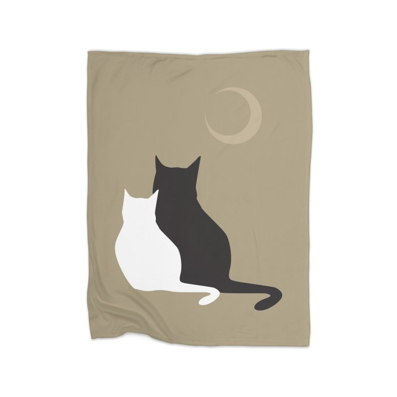 Moonstruck Home Blanket by KaascaT-Shirts