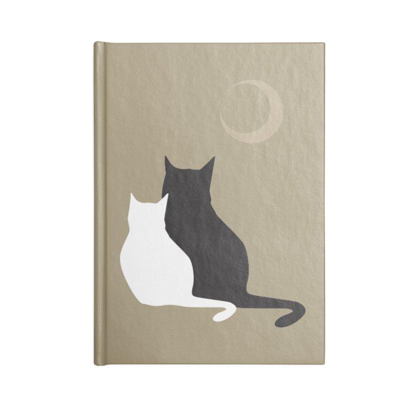 Moonstruck Accessories Notebook by KaascaT-Shirts