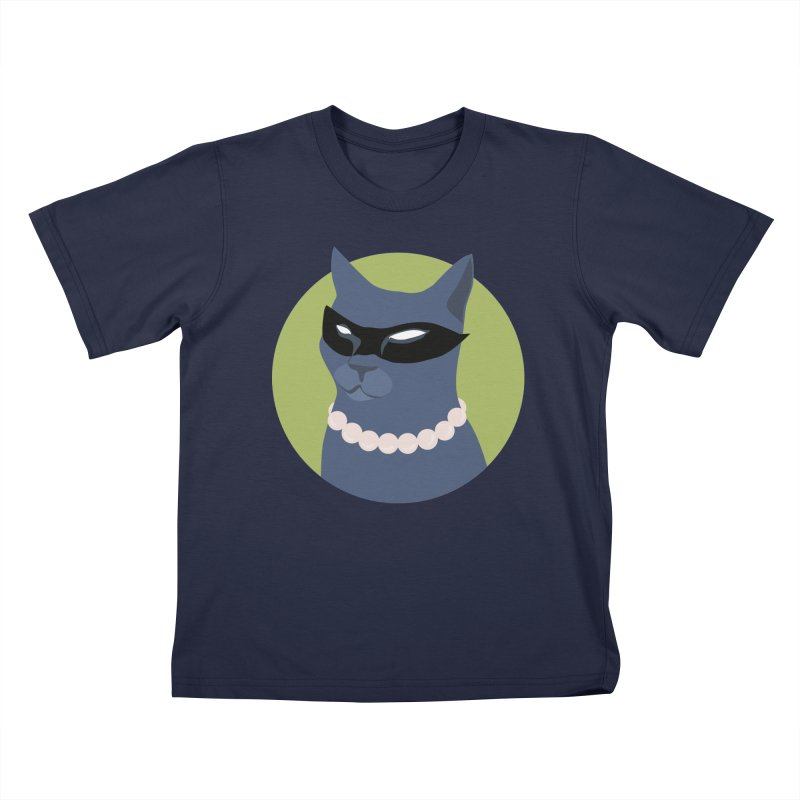 Cat Woman Kids T-Shirt by KaascaT-Shirts