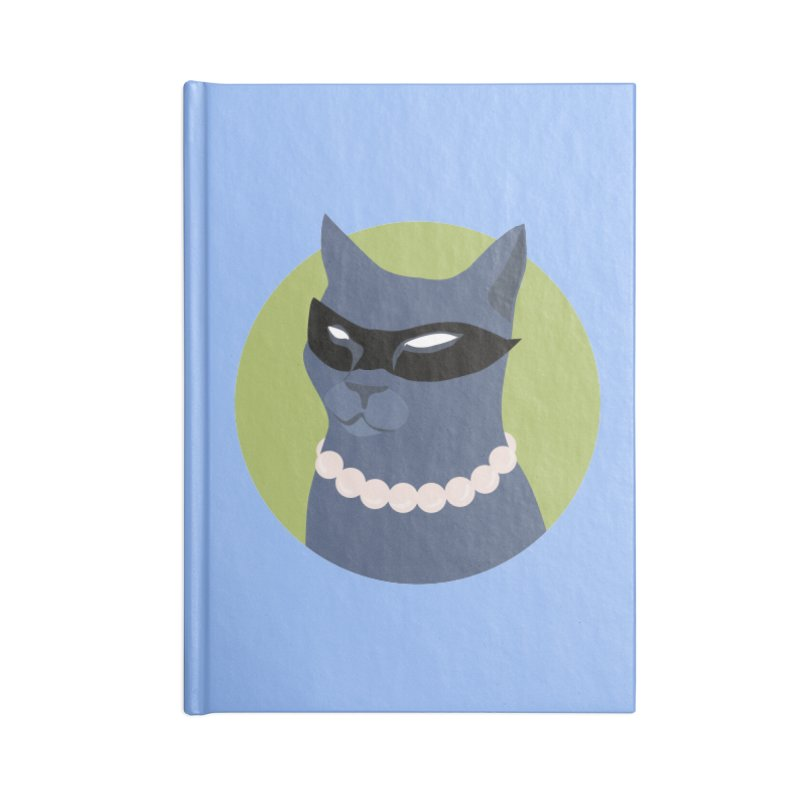 Cat Woman Accessories Notebook by KaascaT-Shirts