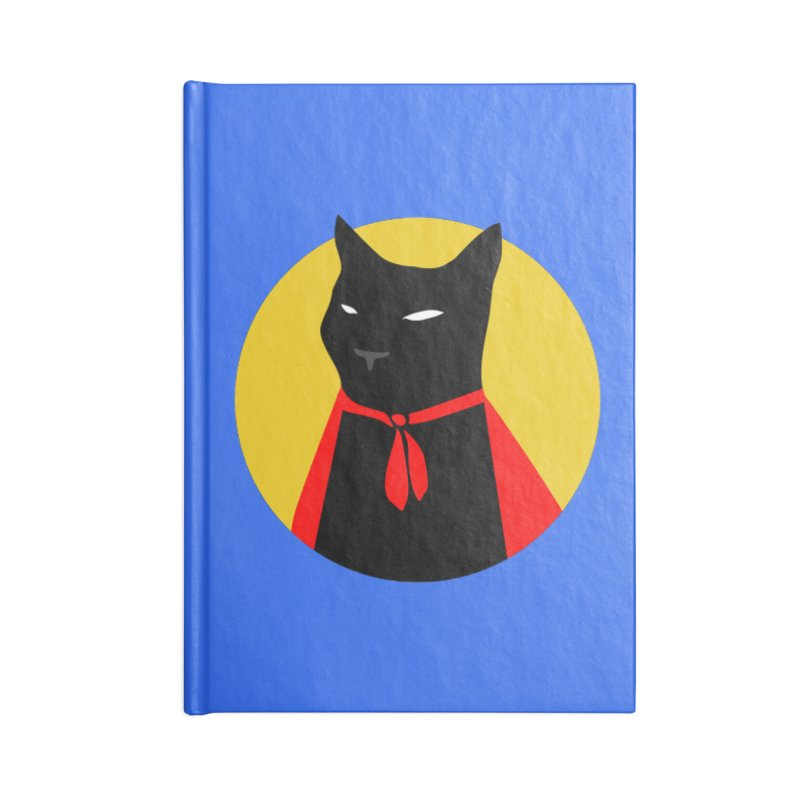 Supercat Accessories Notebook by KaascaT-Shirts