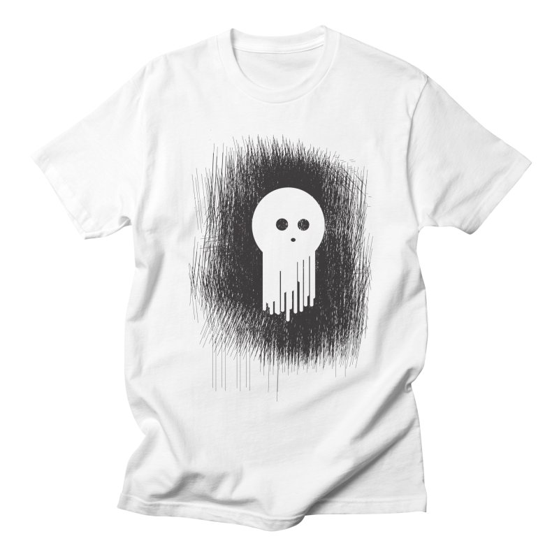 Spookje! in Women's Regular Unisex T-Shirt White by KaascaT-Shirts