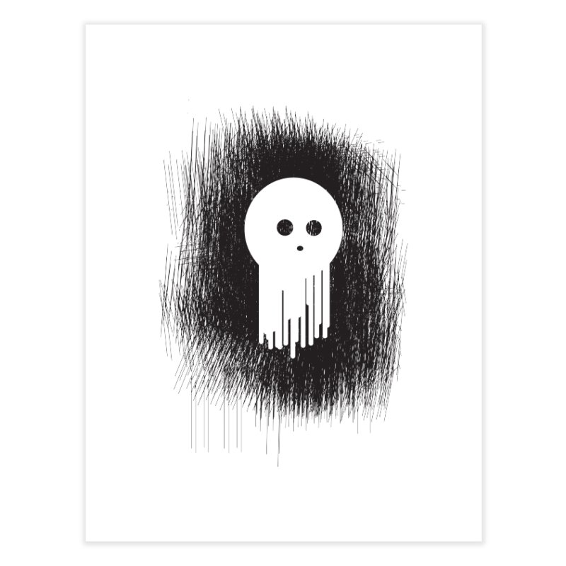Spookje! Home Fine Art Print by KaascaT-Shirts