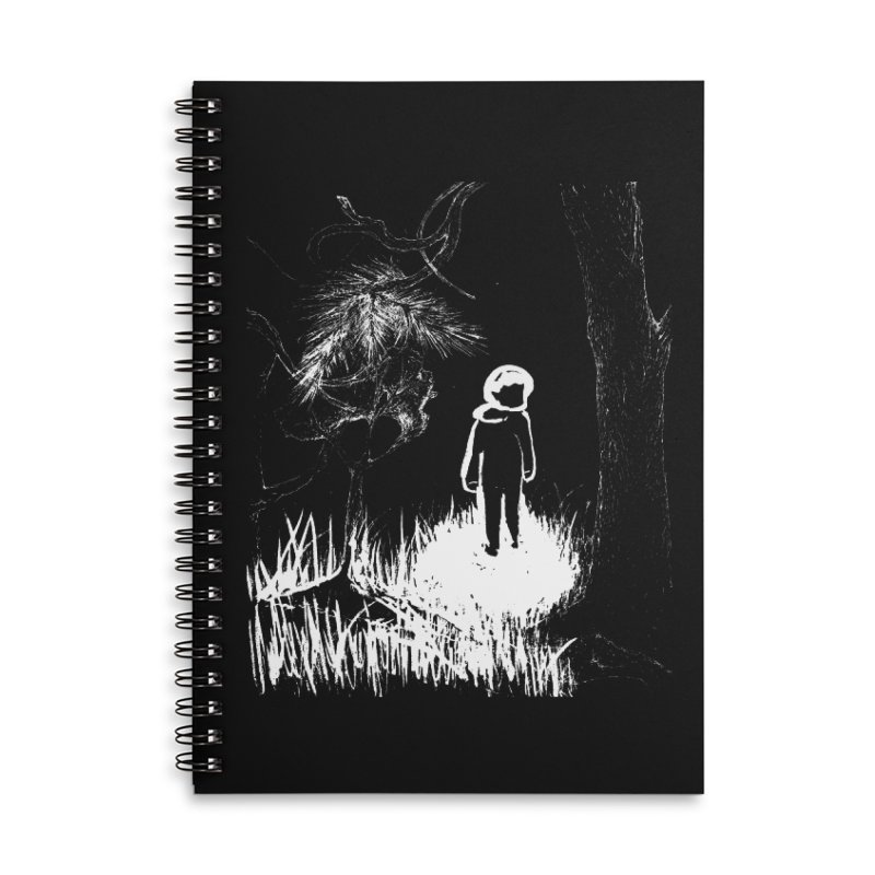 Lost in the Woods Accessories Notebook by KaascaT-Shirts