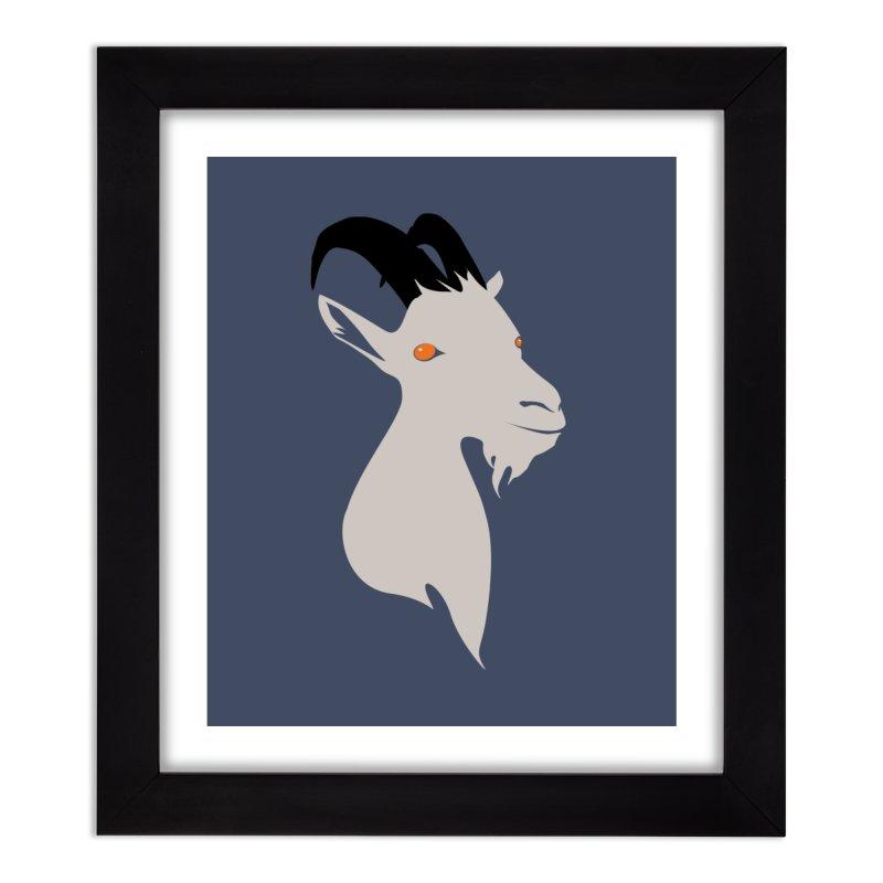 GoaTee Home Framed Fine Art Print by KaascaT-Shirts