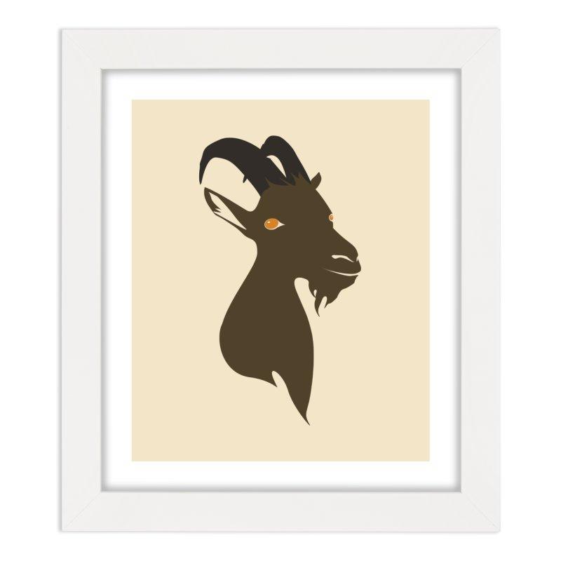 GoaTee v.2 Home Framed Fine Art Print by KaascaT-Shirts